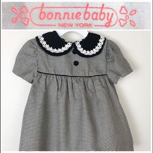 ❤️SOLD❤️Bonnie Baby houndstooth dress